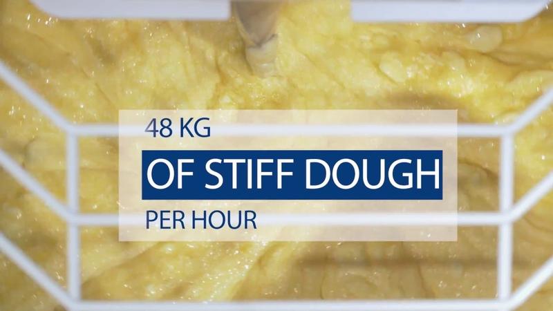 TMS 40NN 2P spiral dough mixer by Abat