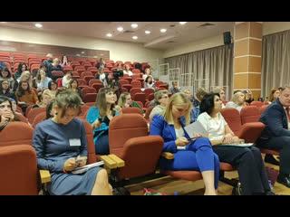 О важности диеты в абилитации детей (Садовская на конференции, фрагмент Юлия Садовская, фрагмент)