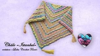 Concours! Châle Istanbul facile Lidia Crochet Tricot