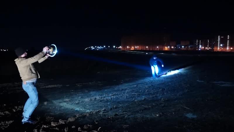 Прожектор на базе миски из ашана ghjtrnjh yf ,fpt vbcrb bp fifyf