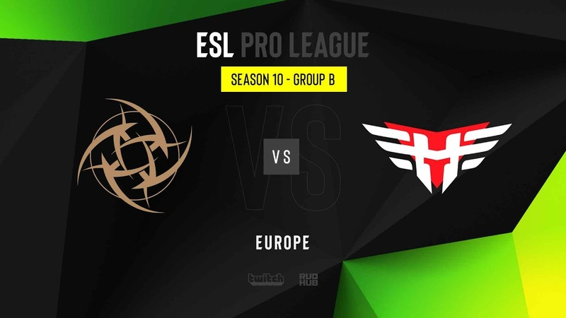 NiP vs Heroic - ESL Pro League Season 10 EU - map1 - de_vertigo [TheCraggy Gromjkeee]