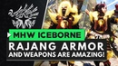 Monster Hunter World Iceborne | RAJANG ARMOR IS AMAZING! All Weapons Armor Skills Overview