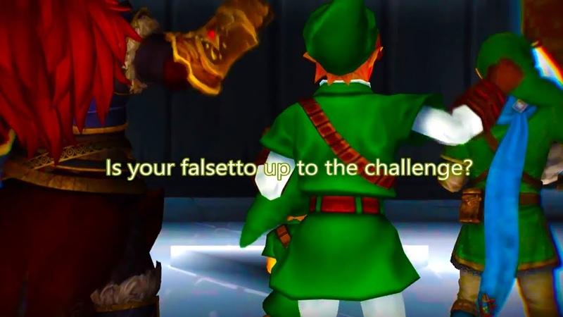 【Legend of Zelda】Young Link's High Range Test【MMD】