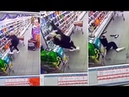 Mischievous Ghost Caught On Supermarket's CCTV Causes Staff To Fall In Irvine Scotland