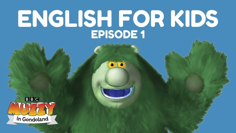 Learn English For Kids. Muzzy In Gondoland - Ep 1. English lessons for children by the BBC's Muzzy