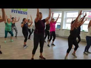 Afrodance-fitness