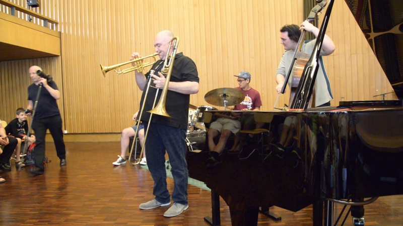 Trompette et Trombone Avec James Morrison