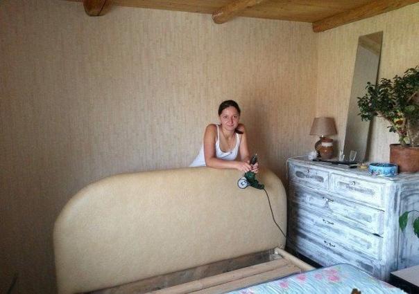 Как сделать кровать на даче