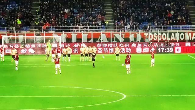 Futboll Plus on Instagram Perla e spnjollit ngrin berishen 😱😱 MilanSpal 1 0 goooool ⚽️in diretta di Suso 🎃❤️🎃❤️ @mattia fragomeni @acmilan @