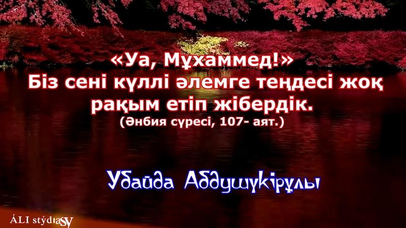 Әзіргі кейбір қазақтың мәдениеттілігі мен сорақылығы Убайда Абдушүкірұлы