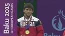 Aniuar Geduev wins the Mens 74kg Freestyle category Wrestling Baku 2015 European Games