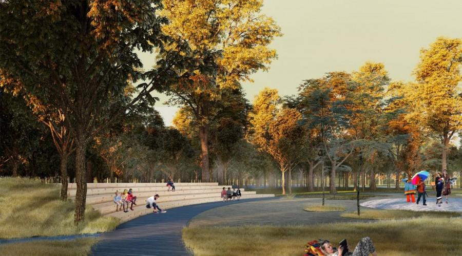 В Мещовске отстроят парк за 40 млн