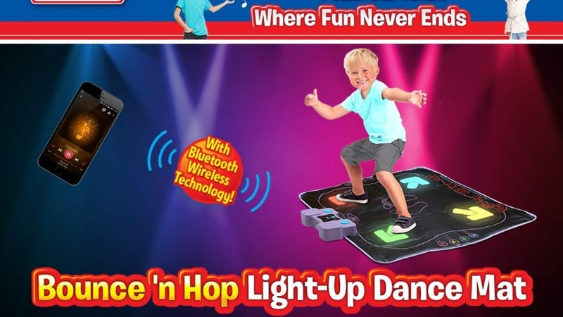 Kidzlane Light Up Arcade Style Dance Mat