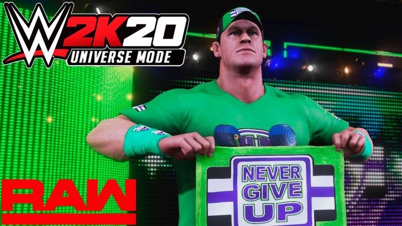 WWE 2K20 Universe Monday Night RAW На Русском 3
