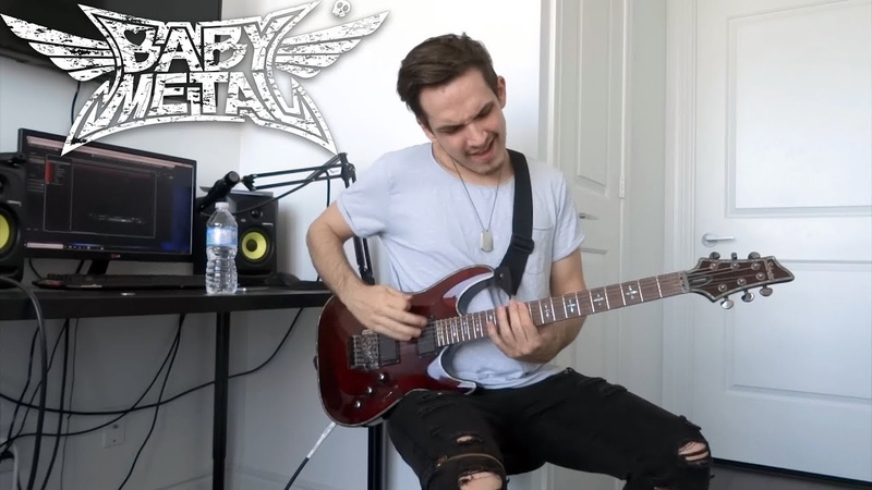 BABYMETAL Distortion GUITAR COVER FULL NEW SONG 2018 HD
