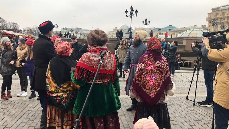 РУССКИЕ ГУЛЯНИЯ В МОСКВЕ   ДЕНЬ НАРОДНОГО ЕДИНСТВА 2019   WELCOME TO MOSCOW   RUSSIA