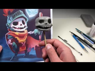 2D to 3D! Sculpting a SUBSCRIBERS DRAWING! Sculpt This E03 - Polymer Clay Sculpting Tutorial