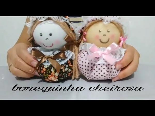 Como fazer lembrancinha de boneca cheirosa Faça você mesmo artesanato com Cris pinheiro