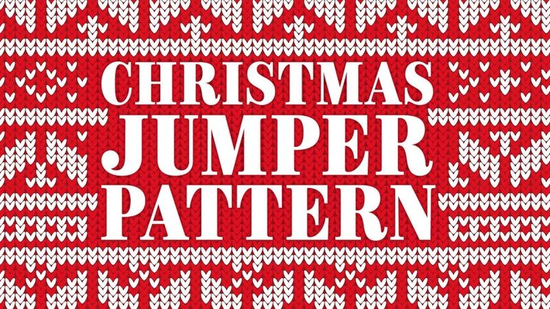 Christmas Jumper Pattern Adobe Illustrator Tutorial