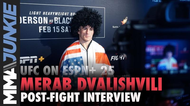 UFC on ESPN 25 Merab Dvalishvili full post-fight interview