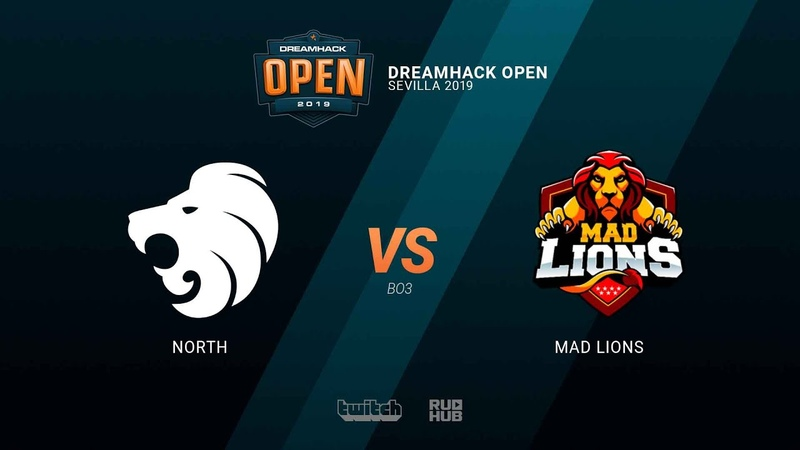 North vs MAD Lions - DH Open Sevilla 2019 - map2 - de_dust2 [sleepsomewhile MintGod]