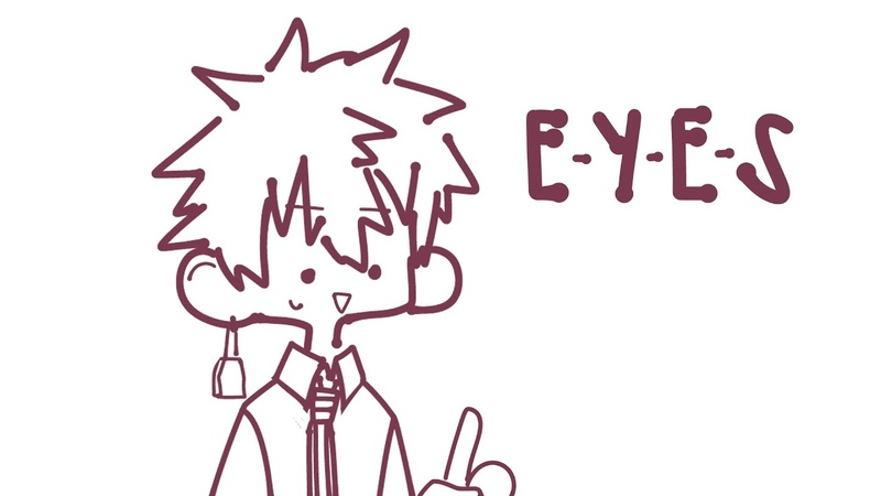 What does E Y E S spell TBHK Animatic short announcement