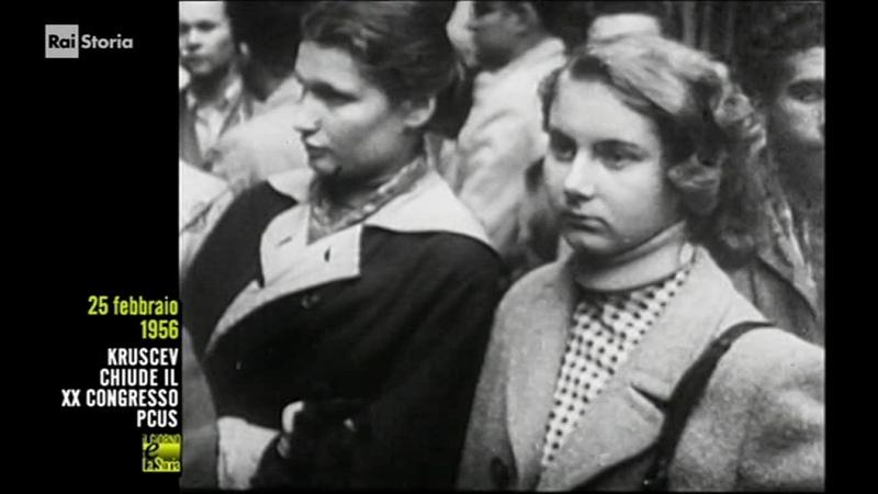 25 febbraio 1956 segr partito comunista sovietico Nikita Chruscev rapporto Stalin XX Congresso