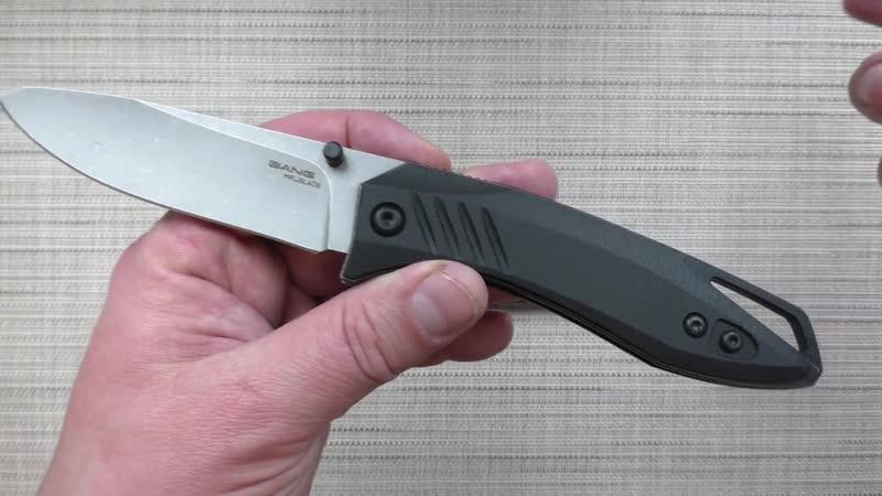 Нож BANG Mr Blade. Проект ОПЕРА