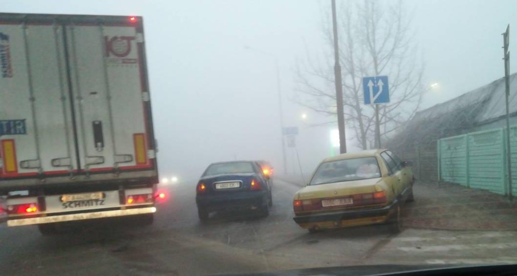 Из-за ДТП проезд по ул. Л.Рябцева практически блокирован
