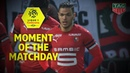 Majestic Hatem Ben Arfa with stunning run and goal for Rennes Week 31 Ligue 1 Conforama 2018 19