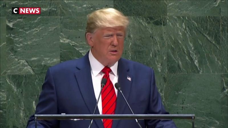 Donald Trump L'avenir n'appartient pas aux mondialistes L'avenir appartient aux patriotes