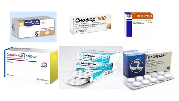 Метформин глюкофаж сиофор что лучше для похудения