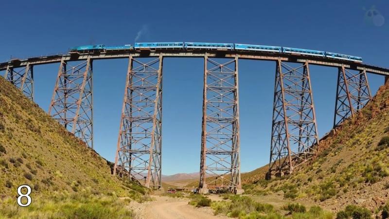10 самых опасных железных дорог в мире
