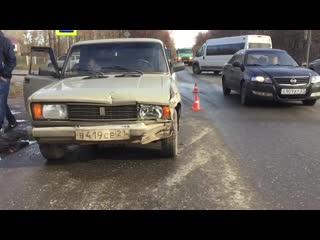 ДТП ВАЗ с ФОРДОМ ул.Промышленная