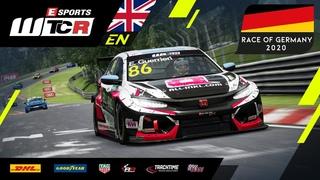 Esports WTCR 2020 | R4 Nrburgring Nordschleife | English Stream