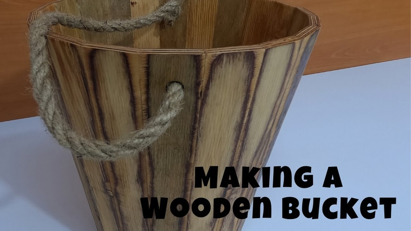 Making a Wooden Bucket /Ahşap kova / Balde de madeira / DIY