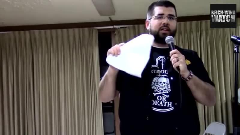 Обре_0006Главный американский Православный националист и его соратники ходят в футболке РУССКОГО СИМВОЛА !