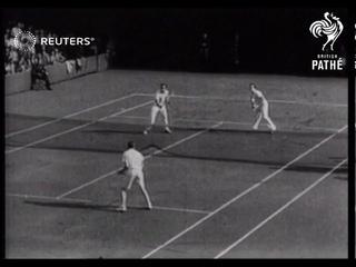 Davis Cup tennis match (1936)