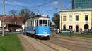 Парад трамваев в Таллине Tram parade in Tallinn
