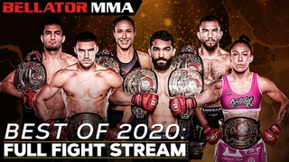 BEST OF 2020: FULL FIGHT STREAM - 🥊 New Year's Celebration 🎉 | Bellator MMA
