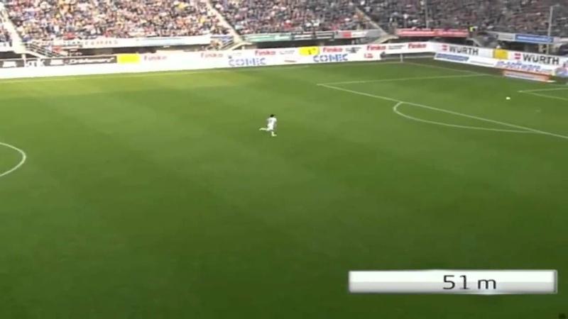 Рекорд чемпионата Германии от дебютанта гол с 83 х метров