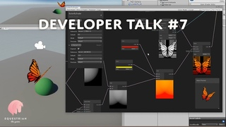 Equestrian the Game dev talk #7 - Music and butterflies (Unity Shadergraph tutorial)