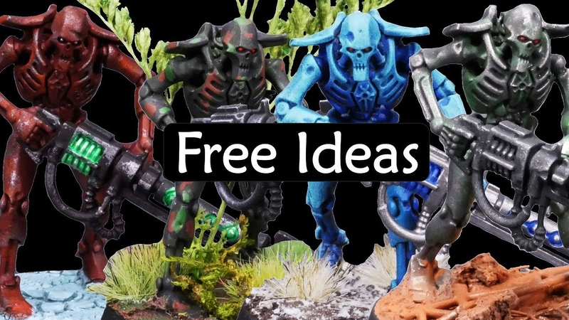 Clever Strategies for Painting Warhammer Armies Ten Efficient Ideas to Make Main Colors Look Great
