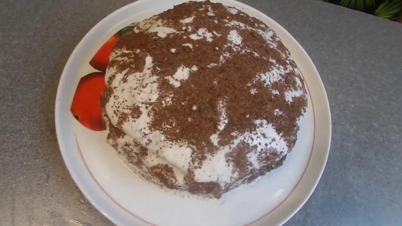 ТОРТ Чёрный День рождения Винтажный кондитерский рецепт