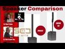 Line Array Speaker Comparisons Turbo Sound IP3000 RCF EVOX 12 EV Evolve 50 Bose L1 Model II