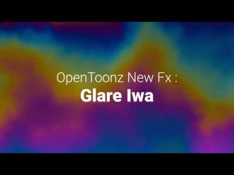 OpenToonz New Fx Glare Iwa