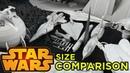 STAR WARS Size Comparison