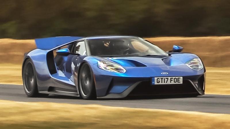 Ford GT 2017 Accelerations Revs EcoBoost V6 Sound