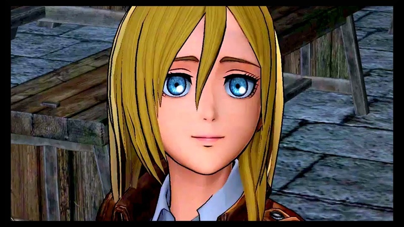 Ymir in service of Christa Yumikuri Attack on Titan Wings of Freedom Game