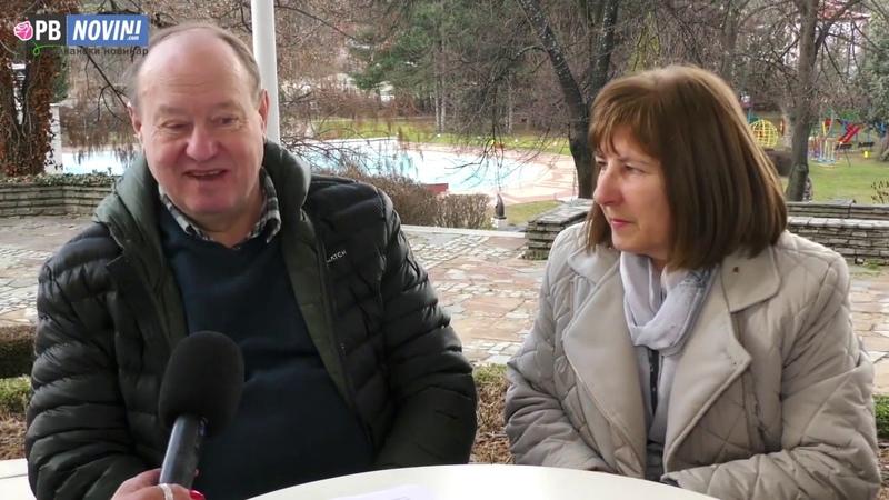 Аркадий Петров и Наталья Фесик интервью в Хисаря